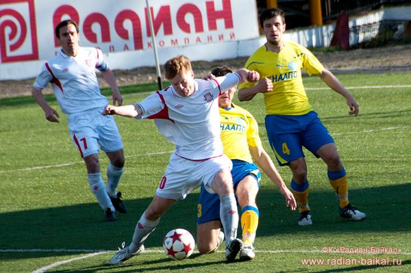 Отчет о матче «Радиан-Байкал» — «Смена»