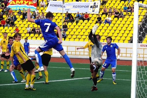 «Амур-2010» одержал победу над «Якутией»
