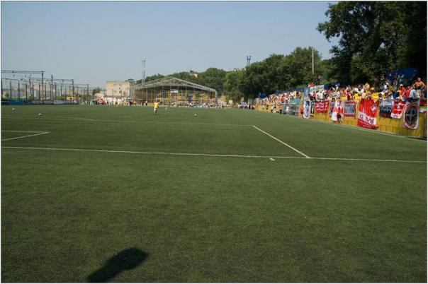 Стадион «Юность» получит новый футбольный газон