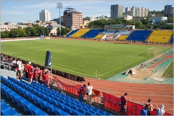 Табло на стадионе «Динамо» во Владивостоке отремонтируют к 1 ноября