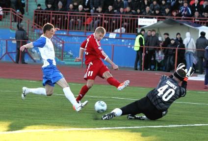 «СКА-Энергия» и «Мордовия» забили 8 мячей