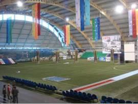 На стадионе «Горняк» прошёл XVII традиционный турнир по футболу среди ветеранов памяти В. М. Кравченко