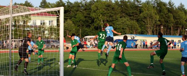 «Белогорск» одержал победу в Ногликах, забив решающий мяч в компенсированное время