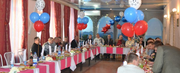 ФК «ЛуТЭК-Энергия» принимал поздравления