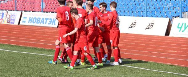 «СКА-Хабаровск-М» на последних минутах вырвал победу в матче против «молодежки» «Сахалина»