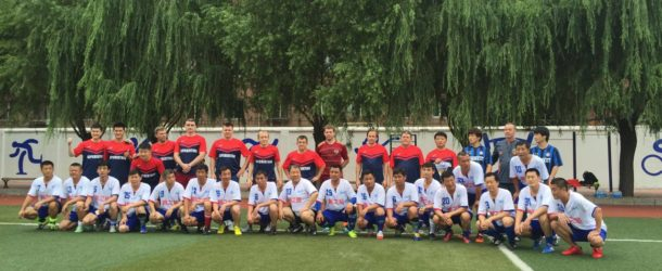 «Перспективные» ветераны стали победителями  товарищеского турнира в Китае