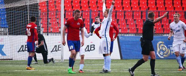 «СКА-Хабаровск» дома уступил «Динамо». Панченко оформил «хет-трик»