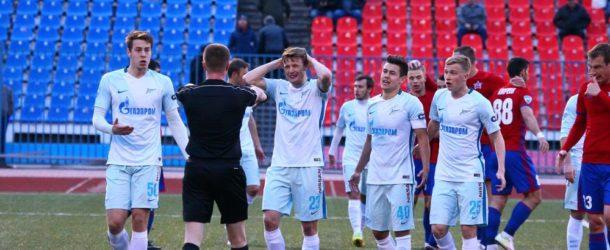 «СКА-Хабаровск» победил в самой концовке «Зенит-2», играя с первого тайма в меньшинстве и отбив пенальти
