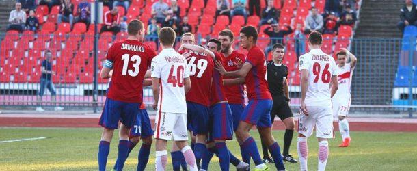 «СКА-Хабаровск» разгромил «Спартак-2»