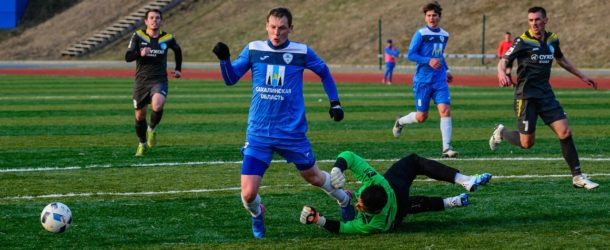 «Сахалин» и «Смена» выдали сумасшедший матч с шестью голами