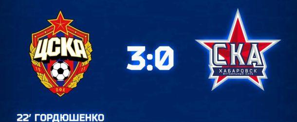 «СКА-Хабаровск-М» крупно проиграл «молодежке» ЦСКА