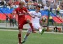«СКА-Хабаровск-М» одержал победу над «молодежкой» «Арсенала», забив решающий мяч ударом через себя в компенсированное время