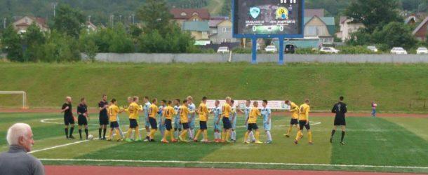 «Сахалин-М» одержал первую победу в третьем дивизионе