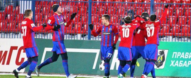 СКА сыграет с «Шинником» в Хабаровске 27 февраля