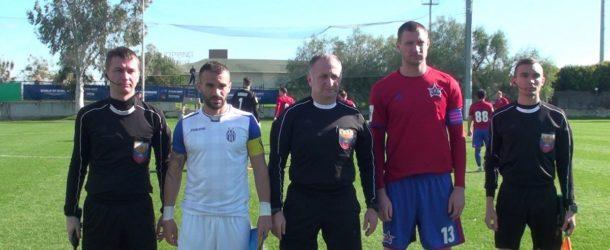 «СКА-Хабаровск» сыграл вничью в первом контрольном матче