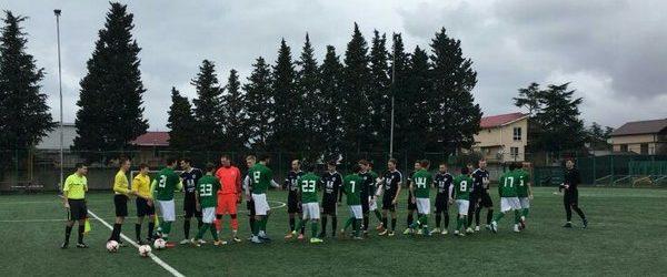«Сахалин» сыграл первый контрольный матч на сборах в Крымске