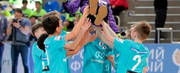 СОШ №8 Южно-Сахалинска — победитель всероссийского финала «Мини-футбола — в школу»