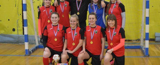 Хабаровский «Арсенал» вновь стал чемпионом Дальнего Востока по мини-футболу среди женщин